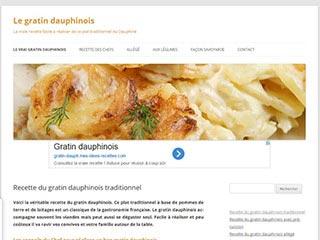 Le gratin dauphinois, véritable recette et variantes