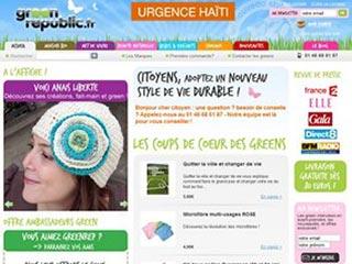 Green Republic : Produits biologiques et écologiques