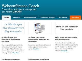 Webconferencecoach, des idées pour alimenter votre blog