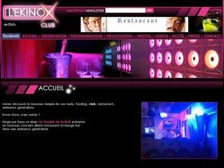 L'Ekinox Club : Discothèque à Antibes