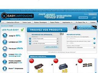 Easy Cartouche, vente de cartouches en ligne