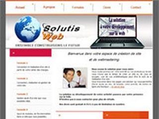 SolutisWeb : Creation, maintenance et gestion de sites