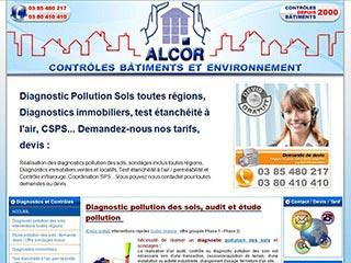 Alcor contrôles, étude pollution des sols