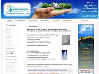Nord-Humidité - Aqua-Control, traitement de l'humidité