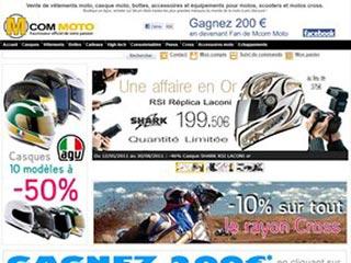 Mcom Moto : Casque moto, blouson cuir, bottes moto
