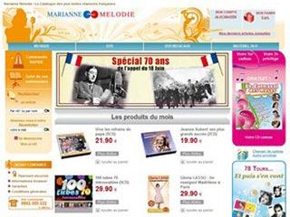 Marianne Melodie, les plus belles chansons françaises
