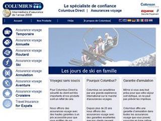 Columbus Direct, assurance voyage de haute qualité