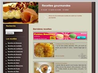 Recettes Gourmandes, recettes de cuisine faciles