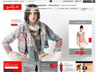 Derhy, e-boutique de vêtements pour femme