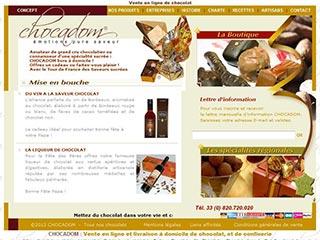 Chocadom, le site des ballotins et des coffrets de chocolats