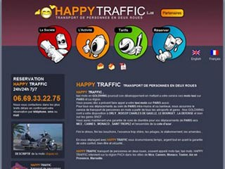 Happy Traffic, service moto taxi