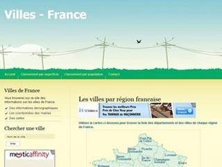 Villes-france, des informations sur les communes de France