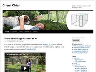 Chenil pour Chien et enclos cage chien Petsafe
