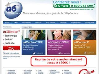 Les solutions de telephonie voip par a6telecom