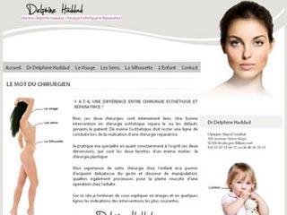 Le chirurgien esthetique, Dr Delphine HADDAD