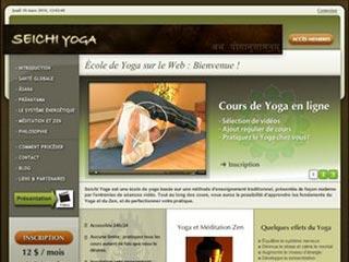 Seichi Yoga, cours de yoga en ligne