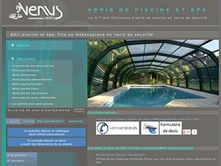 Abris de piscine et de spa Vénus international