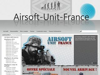 Airsoft Unit France, la boutique en ligne airsoft