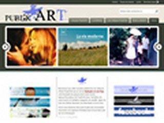 Publik'Art - Webzine culturel participatif