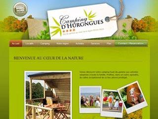 Camping d'Hurongues, camping 4 étoiles région Rhone-Alpes