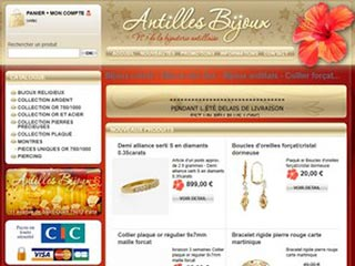 Antilles bijoux, magasin de bijoux Antillais et Créole