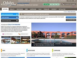 Odalys Patrimoine, histoire et fonctionnement du site