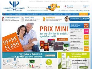 Laboratoires Yves Ponroy, vente en ligne de compléments alimentaires