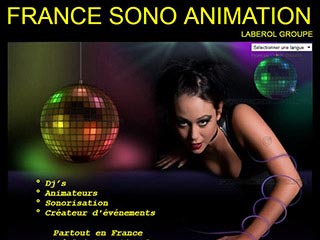 France sono animation, entreprise d'animation Dj