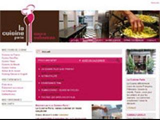La Cuisine Paris, cours culinaires