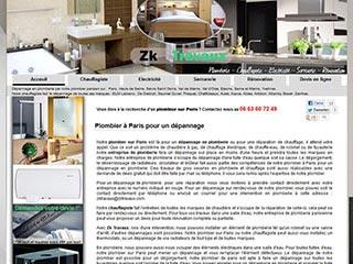 Plombier sur Paris pour un dépannage de plomberie