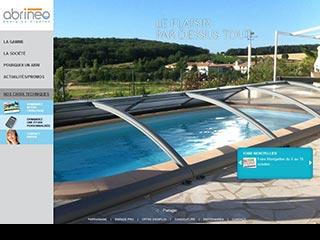 Abrinéo, fabricant abri de piscine sur Carcassonne