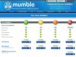 Location de serveur Mumble de très grande qualité