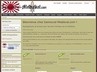 Vente en ligne de sabre japonais de qualité