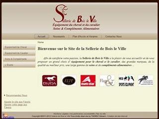 La Sellerie de Bois le Ville, magasin d'équitation