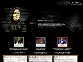 NTK, la marque rugbywear d'Emile NTAMACK