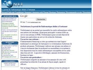 NetArtisanat l'informatique dédiée à l'artisanat