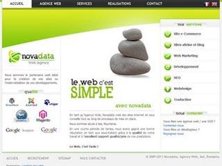 Novadata, agence web de création de sites