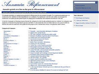 Annuaire pour le référencement web
