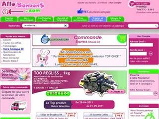 Allobonbons, vente en ligne de confiserie
