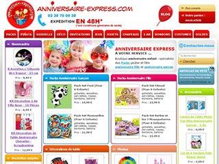 Anniversaire Express, organisation d'anniversaire pour les enfants