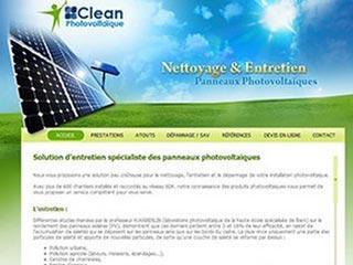 Clean-photo, SAV panneaux photovoltaïques