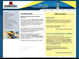 Réadaptation Kinatex