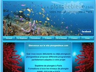 Plongeebleue, école de plongée à Paris