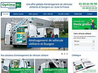 Optima System : Aménagement de véhicules utilitaires
