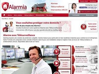Alarmia : Alarme sans fil, télésurveillance et protection incendie