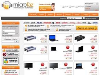 Microfaz, toute l'informatique en ligne par des pros
