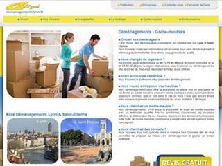 Déménagements Alizé, société déménagement Lyon et St Etienne