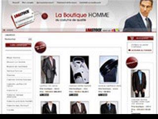 Lnastock, boutique vêtements pour homme
