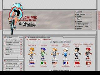 LcmPro, ligue de Cyclisme Virtuel