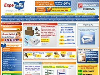 Expepack, emballage et cartons de déménagement